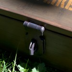 Detail: Locking clasp